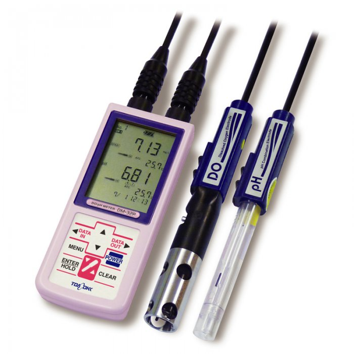 Handheld DO/pH Meter Model DM-32P