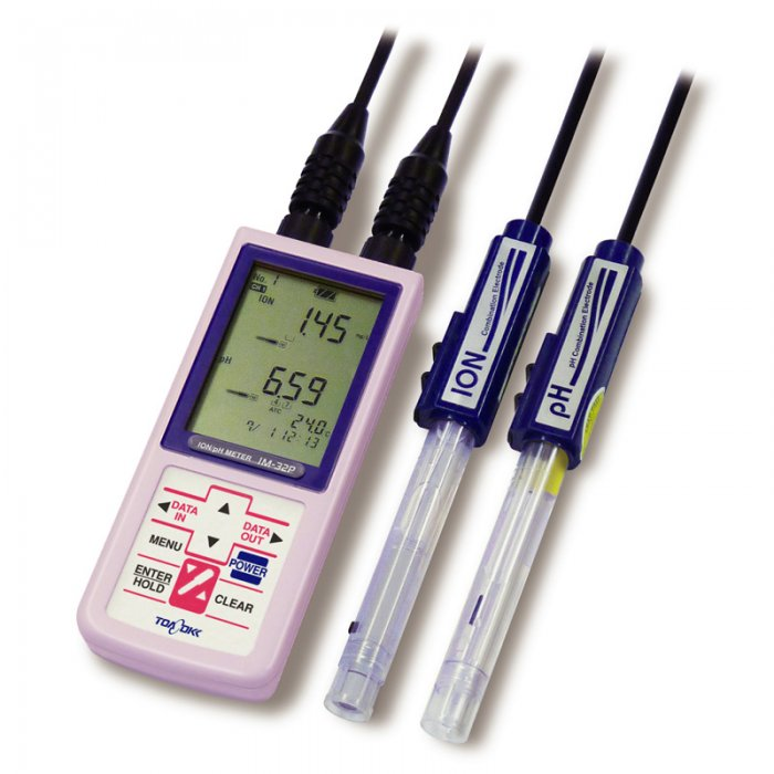 Handheld Conductivity/ pH Meter Model WM-32EP