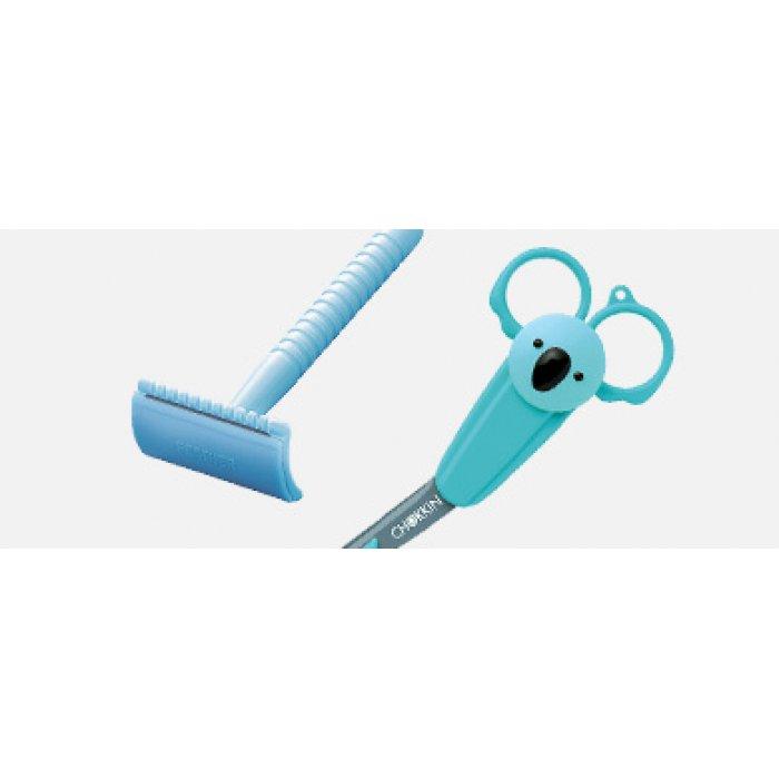 FEATHER Scissors and Prep Razor