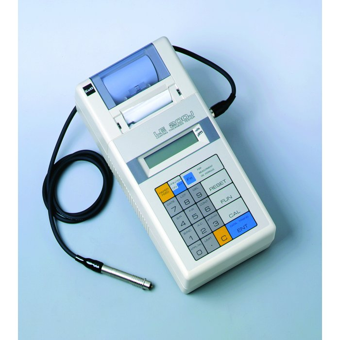 Electromagnetic Coating Thickness Tester with In-built Printer Model LE-200J